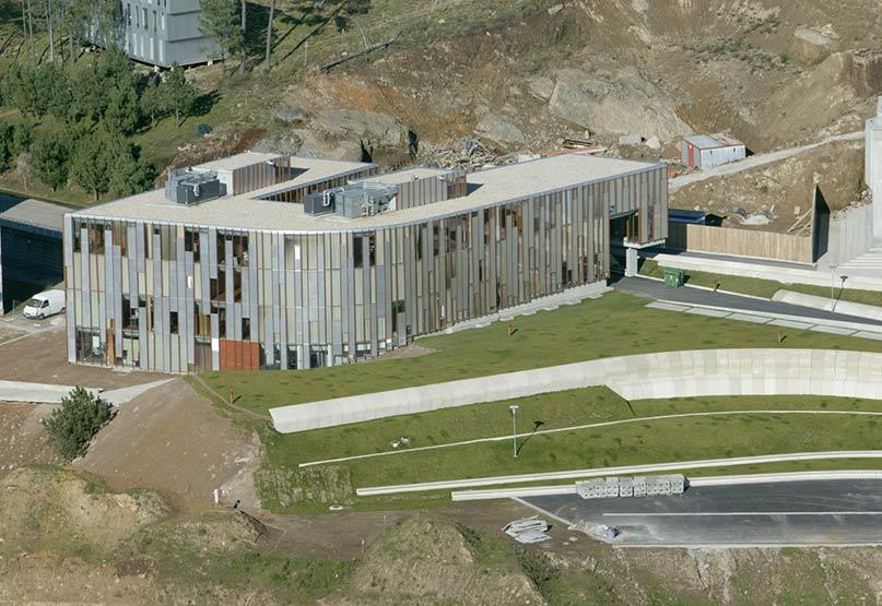 Rectorado Universidad Vigo