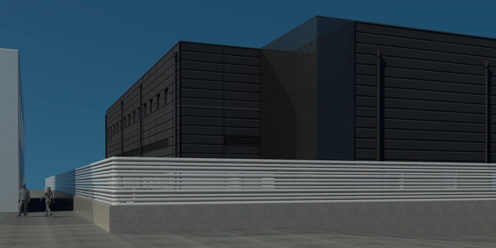 Ampliación de edificio de Laboratorios